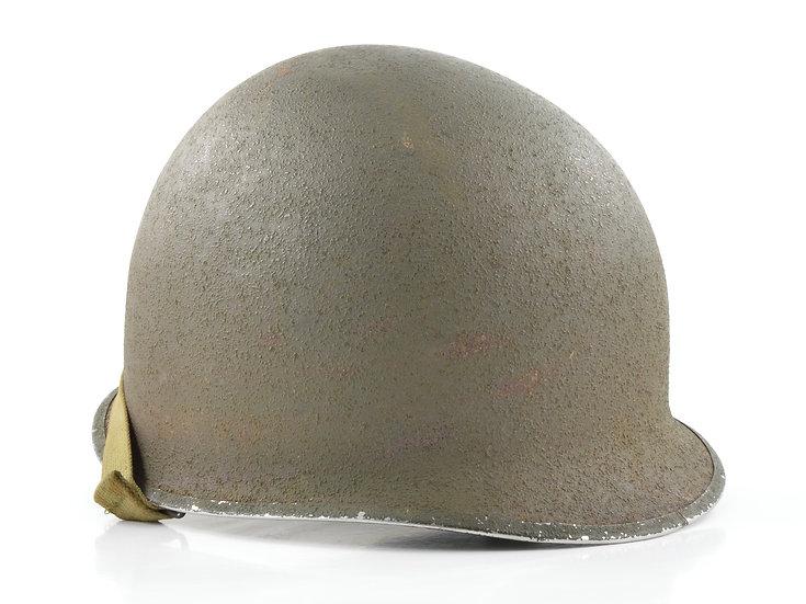 Mid-WWII Fixed Loop McCord M1 Helmet Shell (June 1943)