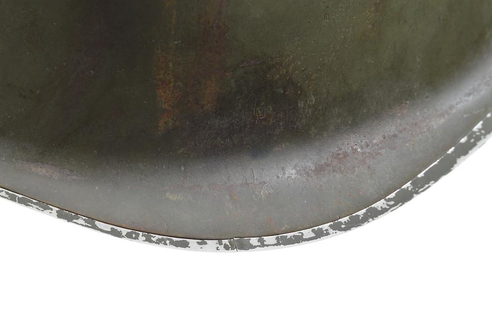 Original WWII Schlueter Helmet For Sale