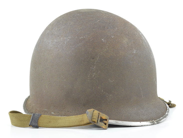 WWII Fixed Loop McCord M1 Helmet Shell (September 1943) (Blemished)