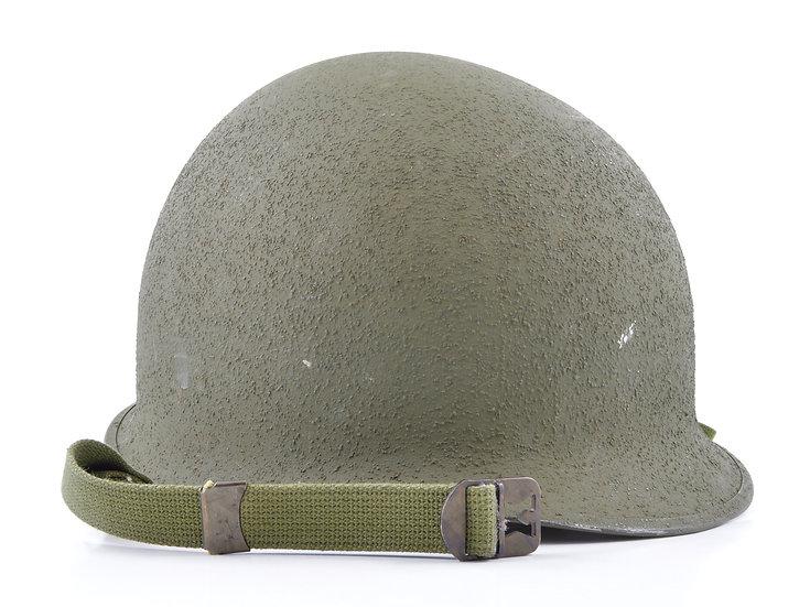 Late-WWII McCord Swivel Loop Helmet & Seaman Liner Set (Near Mint)