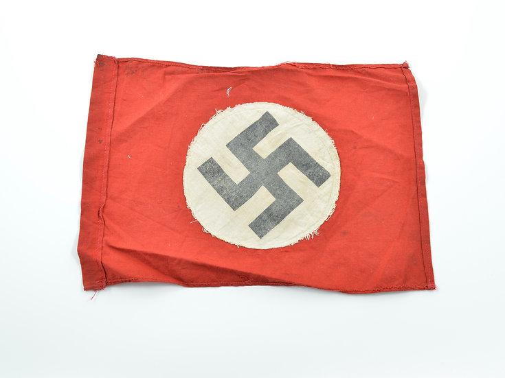 WWII German NSDAP Parade Stick Flag