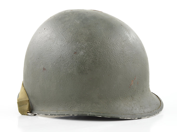 Late-WWII Swivel Loop McCord M1 Helmet Shell (September 1944)
