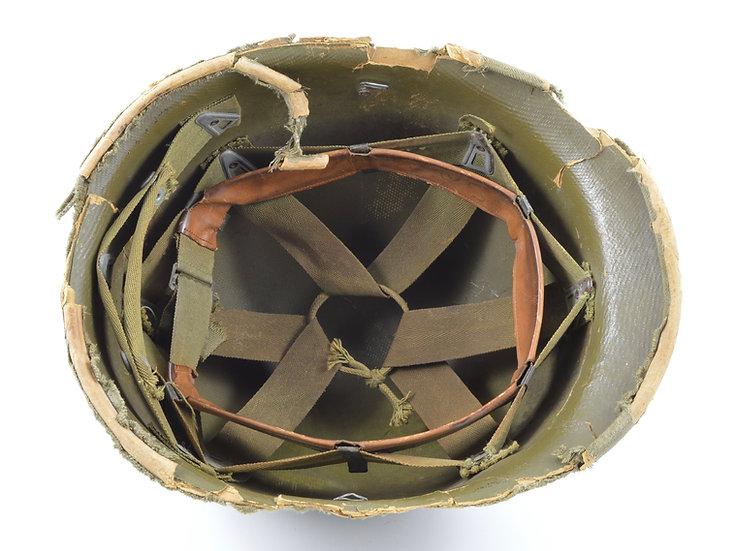 Early-WWII Hawley M1 Helmet Liner (2nd Pattern Suspension)