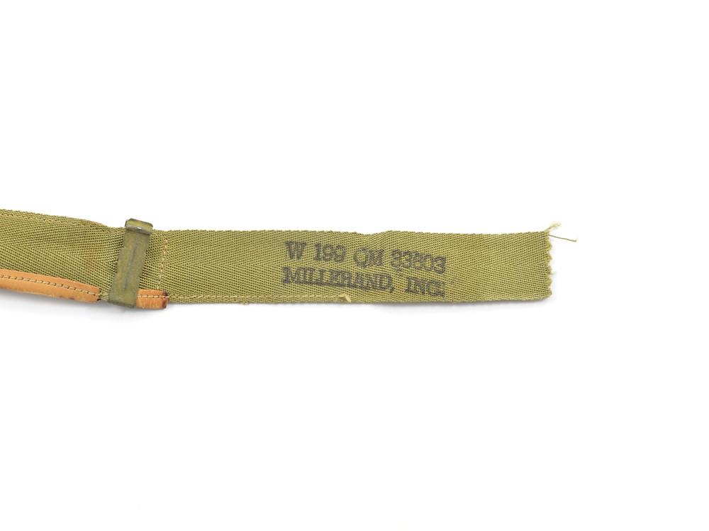 WW2 Sweatband, W199 QM 33603, MILLERAND, INC., May 17, 1943