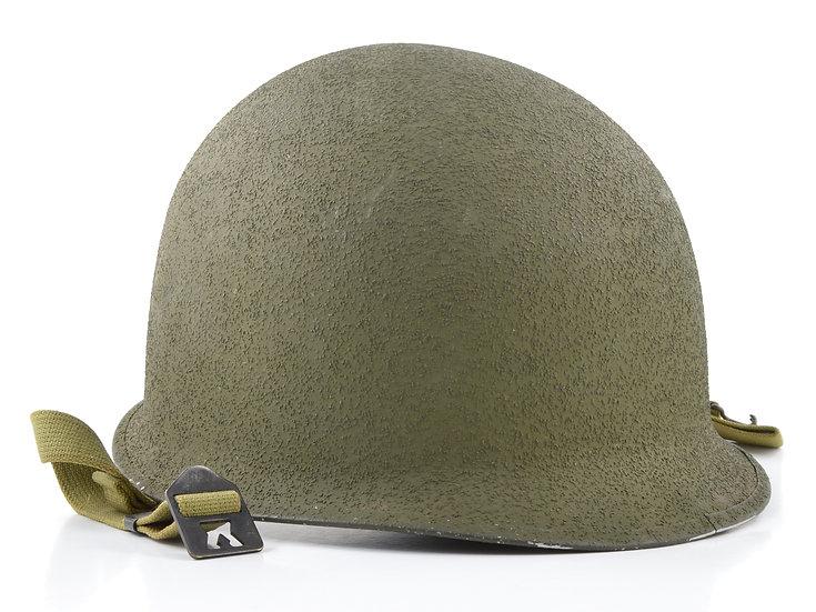 Near-Mint WWII Fixed Loop Schlueter M1 Helmet Shell (Early-1943)