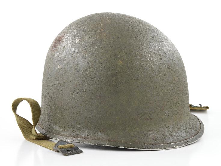 Original WW2 Fixed Loop Schlueter M1 Helmet Shell (Mid-1943) For Sale