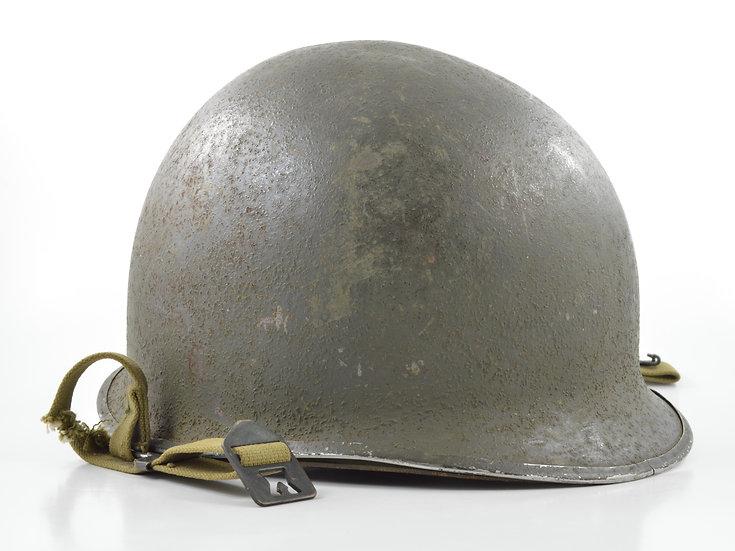 Mid-WWII Swivel Loop Helmet & Westinghouse Liner (Complete Set)