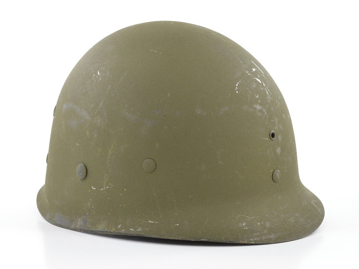 Late-WWII Capac Infantry M1 Helmet Liner (W/ Neckband)