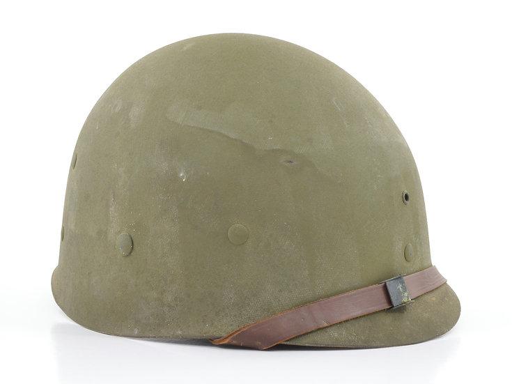 Original Late-WW2 U.S. Westinghouse M1 Helmet Liner (Complete) For Sale