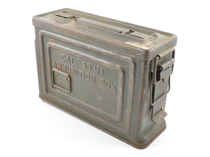 WWII .30 Cal. M1 Ammunition Box