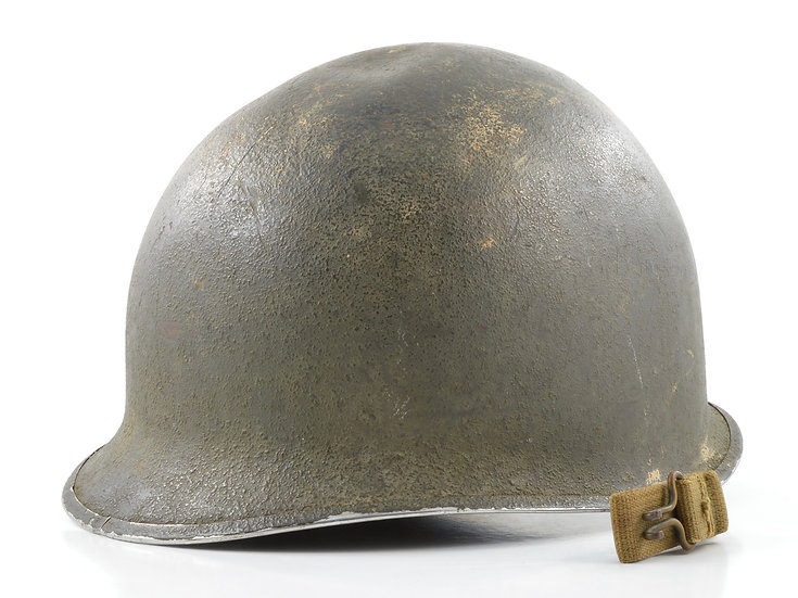 WWII Fixed Loop McCord M1 Helmet Shell (April 1942)