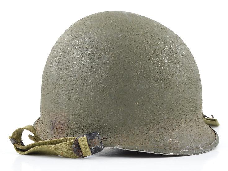 Late-WWII Swivel Loop McCord M1 Helmet Shell (April 1944)