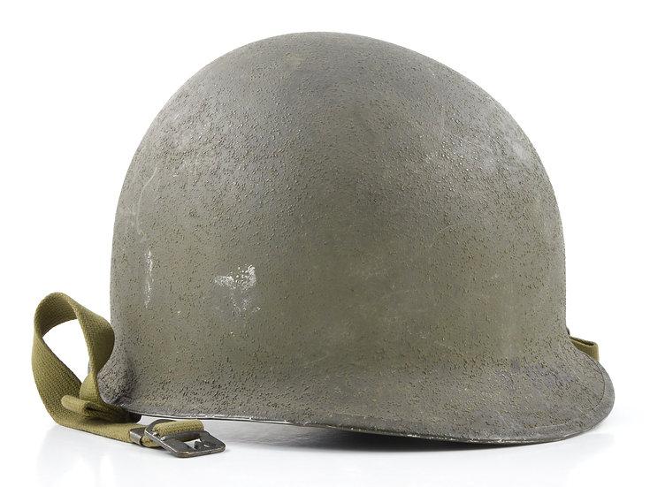 WWII Fixed Loop McCord M1 Helmet Shell (September 1942)