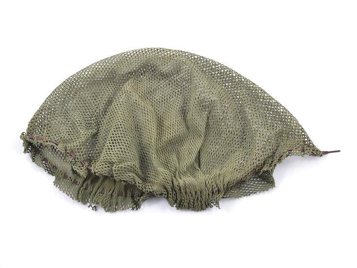 "WWII U.S. Camouflage ""Shrimp"" Helmet Net"