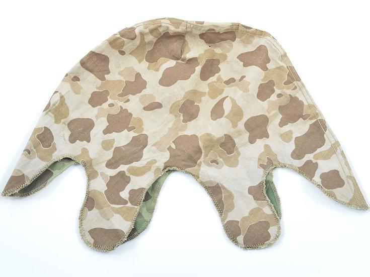 WWII USMC Camouflage Helmet Cover