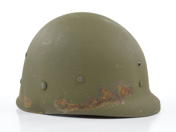 Late-WWII Firestone Infantry M1 Helmet Liner (W/ Neckband)