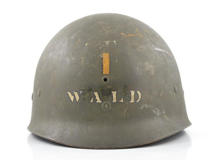 Mid-WWII Second Lieutenant's Westinghouse M1 Helmet Liner
