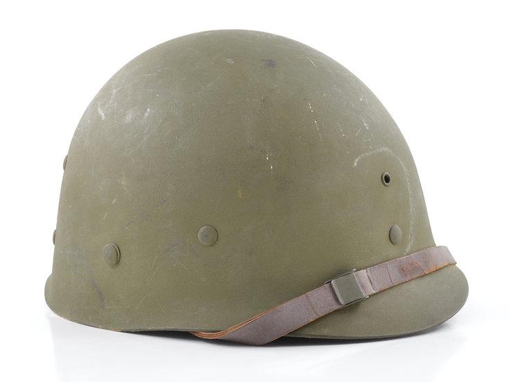 WWII Firestone M1 Helmet Liner (Complete Accessories)