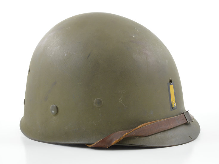Early-WWII Second Lieutenant's Inland M1 Helmet Liner (ID'd)