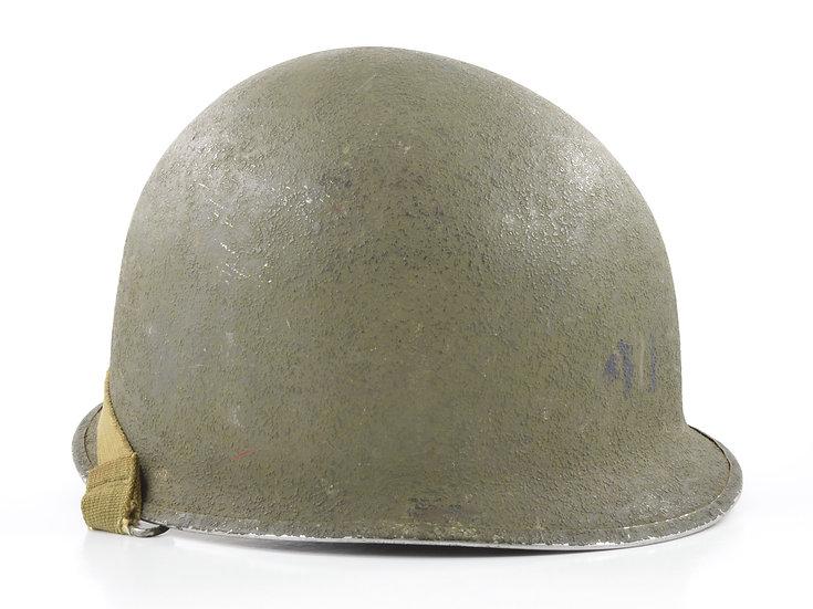 Original WW2 Schlueter Helmet Shell For Sale