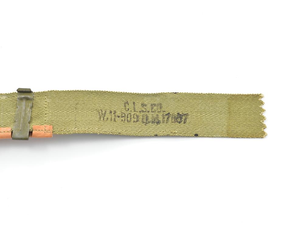 WW2 Sweatband C.L.S.CO..,  W11-909 Q.M.-17007, November 5, 1943