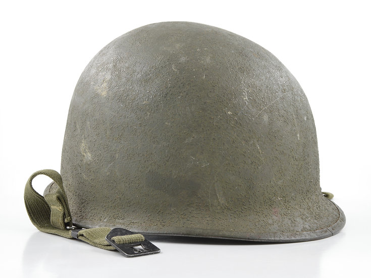 Mid-WWII Swivel Loop Schlueter M1 Helmet Shell (1944)