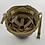 WWII Fixed Loop M1 Helmet & Rayon Hawley Liner Set