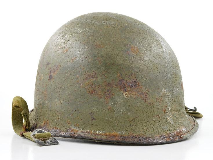 Mid-WWII U.S. Schlueter Swivel Loop M1 Helmet & Westinghouse Liner (1944 Set)