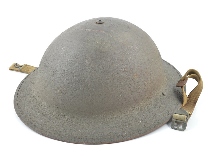 Early-WWII McCord M1917A1 Helmet (ID'd, 1941 Set)