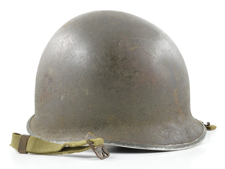 WWII Fixed Loop McCord M1 Helmet Shell (December 1942)