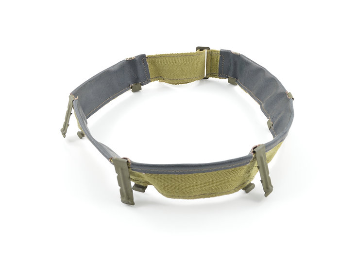 WWII Hood Rubber M1 Helmet Liner Vinyl Headband (Early-Mid War)