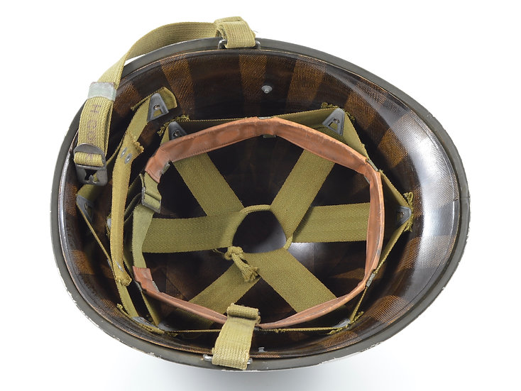 WWII Fixed Loop M1 Helmet & Westinghouse Liner (1942 Set)