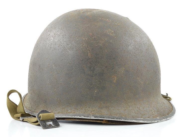 Mid-WWII Fixed Loop M1 Helmet & Capac Liner (1943 Set)
