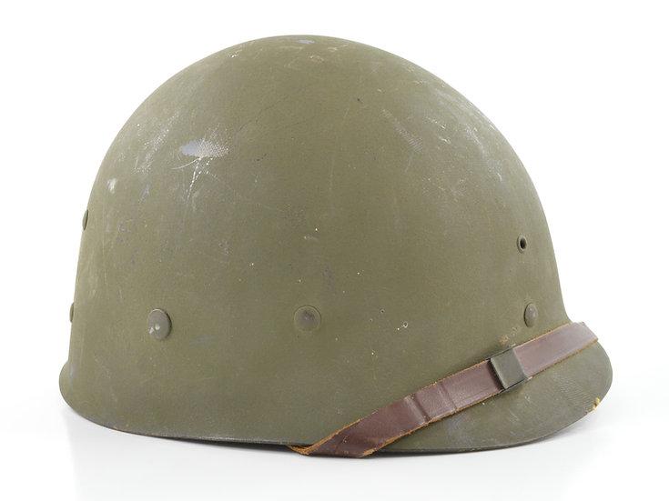 Original Mid-WW2 Capac Helmet Liner (Complete Accessories) For Sale
