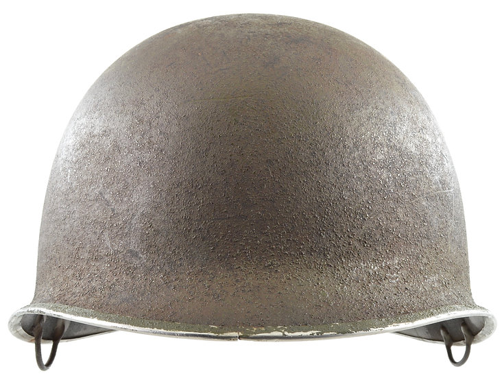 "WWII Paratrooper M2 ""D-Bail"" Airborne Helmet Shell"