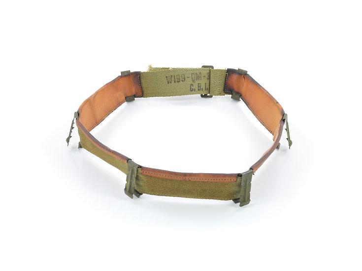 Original WW2 U.S. M1 Helmet Liner Headband (Early-Mid War) For Sale