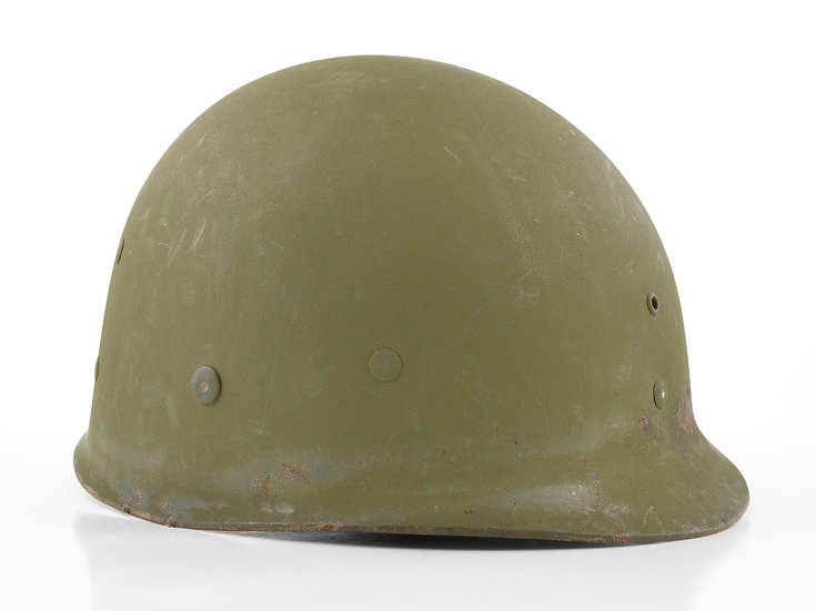 Late-WWII Westinghouse Infantry M1 Helmet Liner (W/ Neckband)