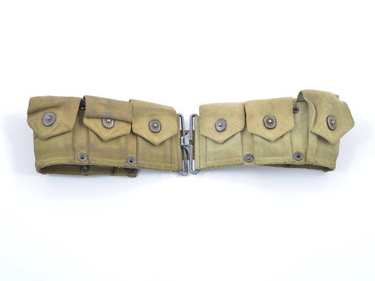 Original WW2 M1 Garand Cartridge Belt (1943) For Sale