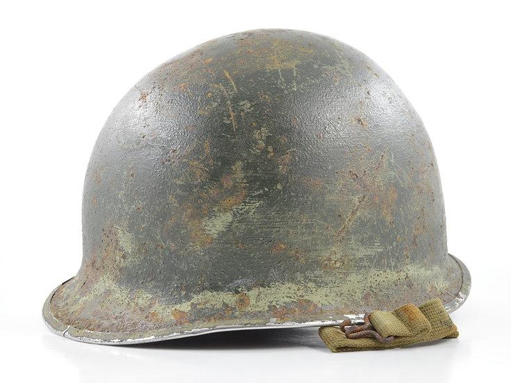 WWII Fixed Loop McCord M1 Helmet Shell (1943)