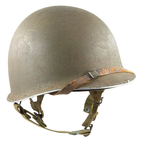 "WWII M2 ""D-Bail"" Airborne Helmet & Inland Paratrooper Liner Set"
