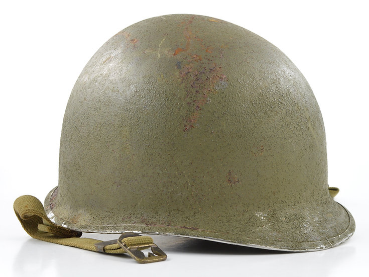 WWII Fixed Loop McCord M1 Helmet Shell (August 1942)