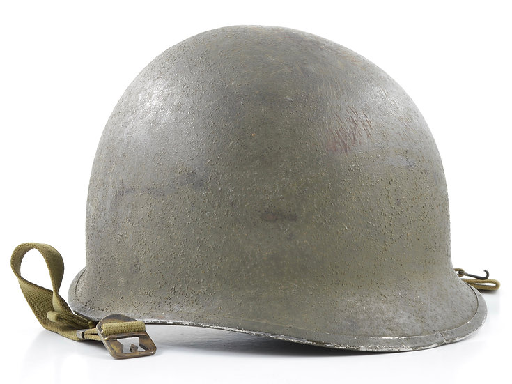 WWII Fixed Loop McCord M1 Helmet Shell (March 1942)