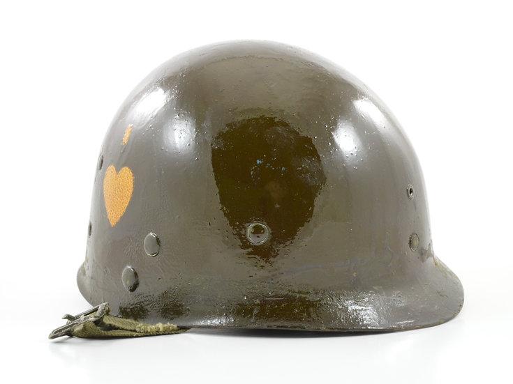 WWII 502nd PIR 101st Airborne Westinghouse Paratrooper M2 Helmet Liner