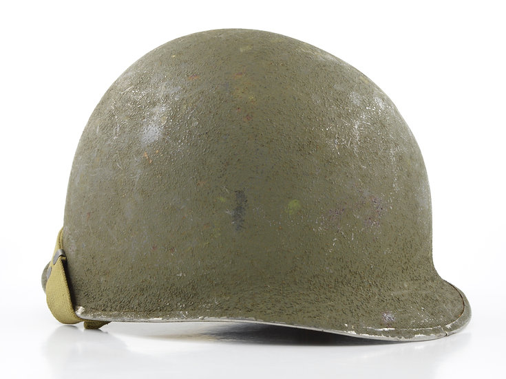 WWII Swivel Loop McCord M1 Helmet Shell (October 1944)