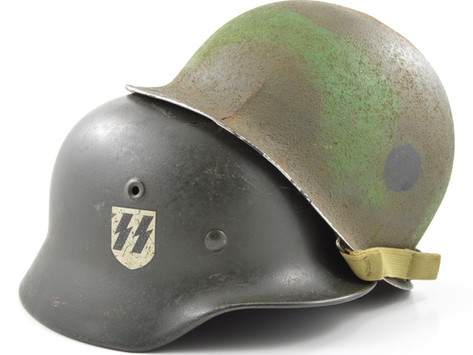 How to Identify a Fake WWII Helmet