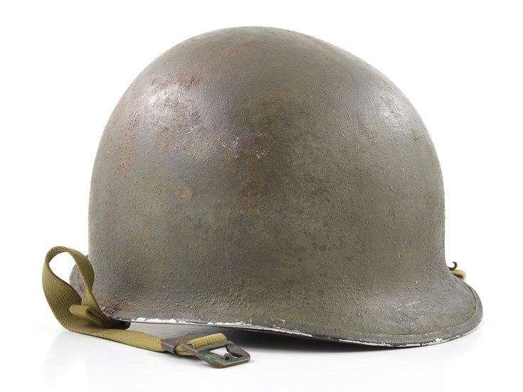 Early-WWII Fixed Loop M1 Helmet & Inland/Firestone Liner Set