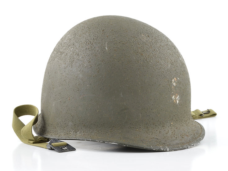 WWII Fixed Loop McCord M1 Helmet Shell (October 1943)