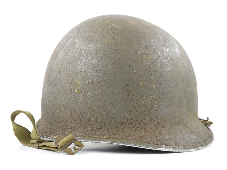 WWII Fixed Loop McCord M1 Helmet Shell (September 1942)