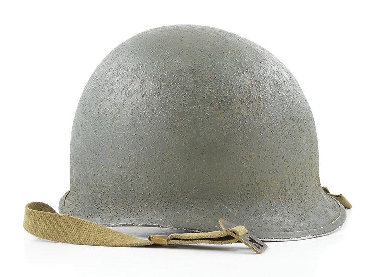 WWII Swivel Loop McCord M1 Helmet Shell (October 1944)