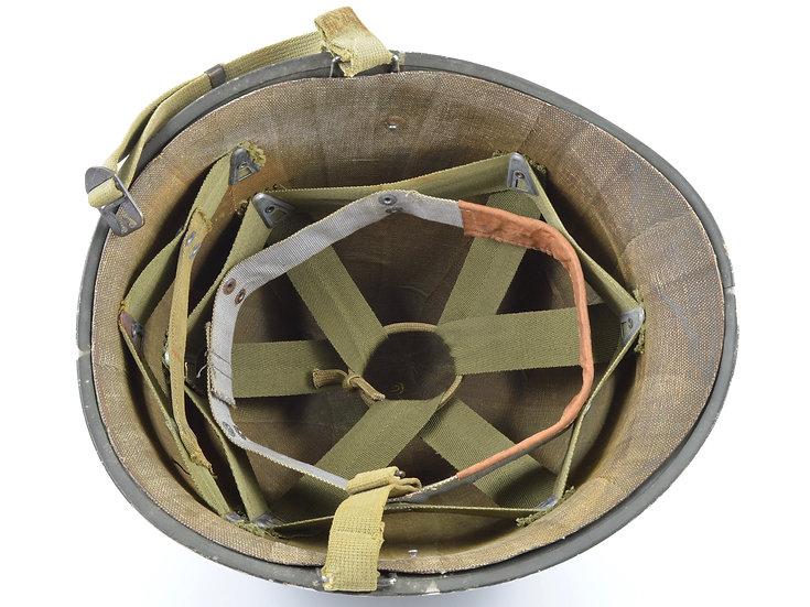 WWII Fixed Loop M1 Helmet & St. Clair Liner (1942 Set)